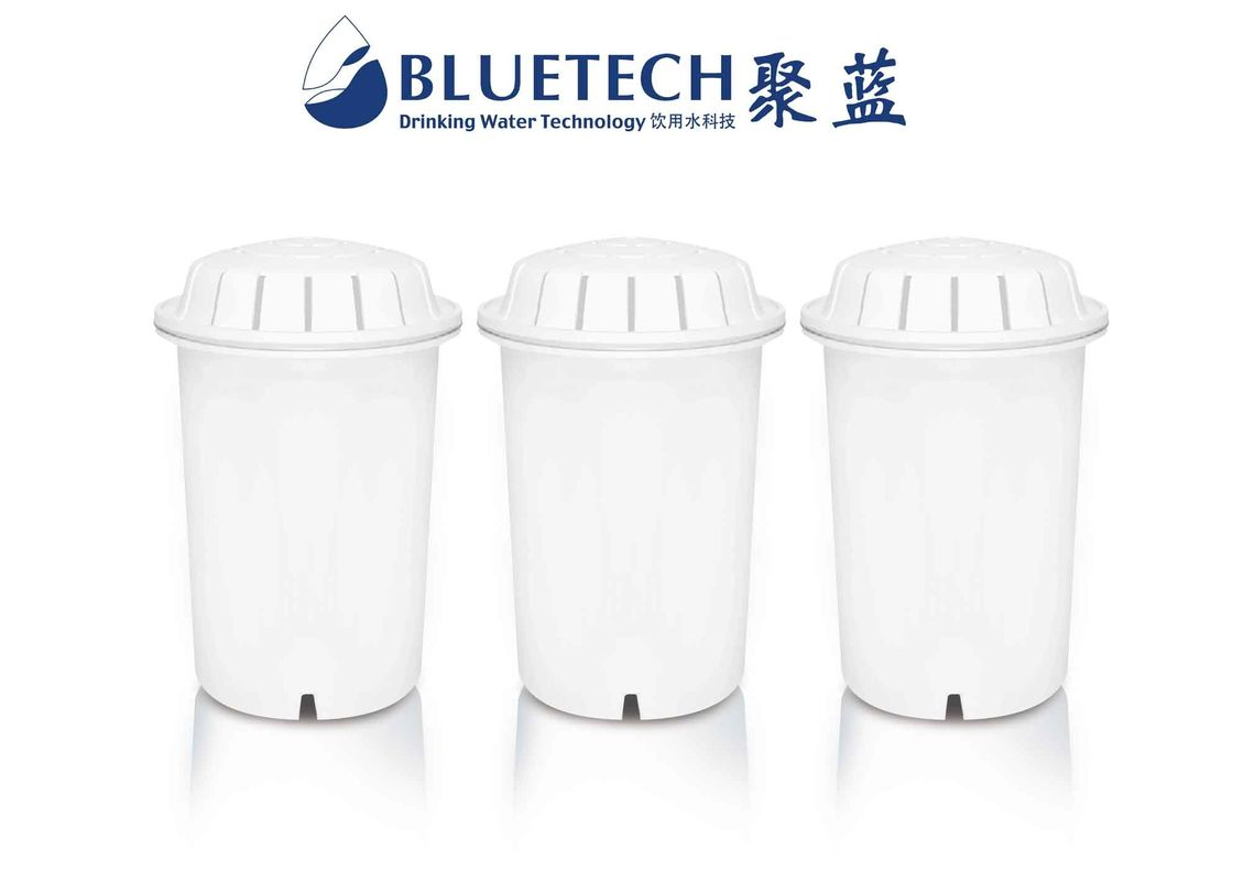 ORP Pitcher Replacement Filter , Water Jug Filter Cartridges With 5 Kinds Alkaline Stones