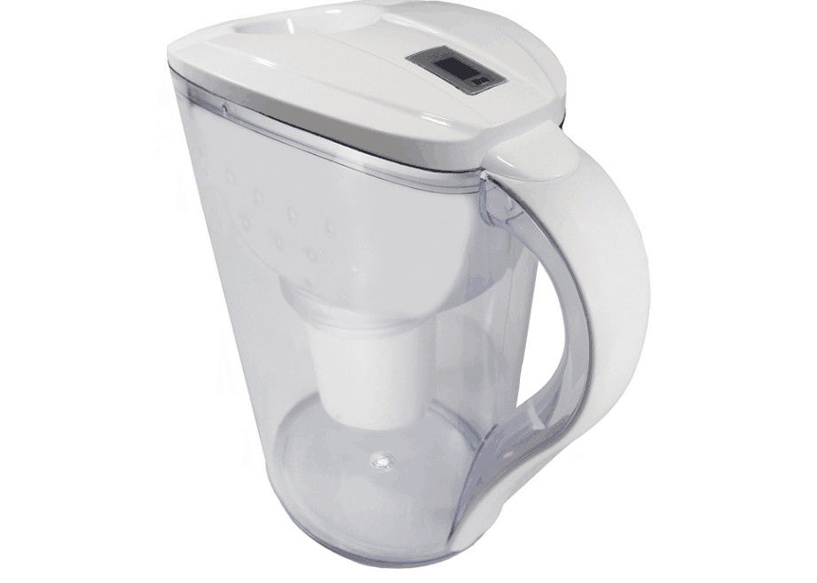 Safe 8 Cup Alkaline Water Filter Jug For Kitchen Adjust Ph Of Drinking Water